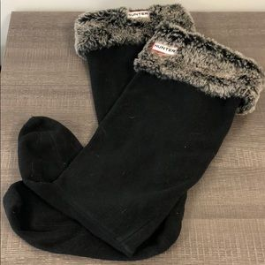 Hunter Shoes - Hunter Tall Fleece faux Fur Rain Boot Sock